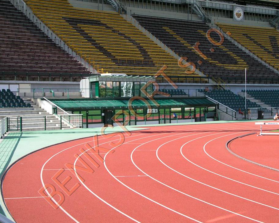 Projekce a výstavba sportoviště - Dukla